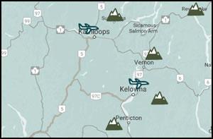 Ski Hill Maps