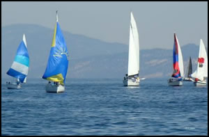 Sailing in Kelowna