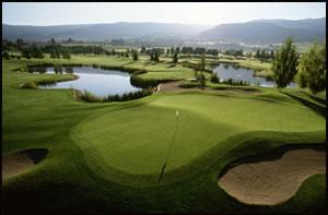 Golfing Kelowna